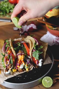 Ground Beef Soft-Shell Tacos