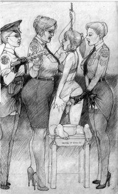 vintage transgendered artwork