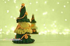 albero di natale all'uncinetto, decorazioni di natale, fai da te, addobbi natalizi, lavoretti di natale,
