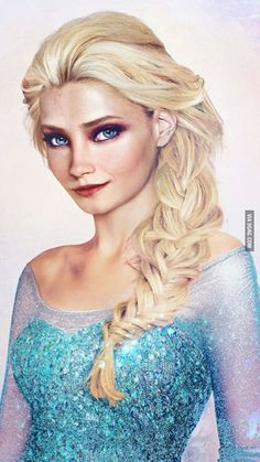 "A Finnish artist made ""Elsa in real life"""