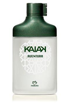 A fragrância de Kaiak Aventura traz o acorde de cítricos e notas aquosas combinadas com pimenta preta e madeiras.
