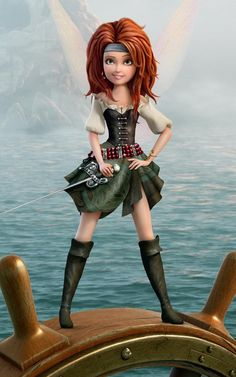 Zarina - The Pirate Fairy Mobile Wallpaper 2876