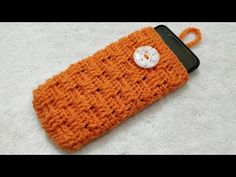 How to Crochet Mobile Cover / Pouch || क्रोशिये से मोबाइल कवर बनाएं - YouTube Crochet Mobile, Mobile Covers, Sunglasses Case, Pouch, Cases, Youtube, Mobile Cases, Sachets, Porch