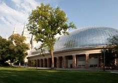 Salt Lake City Tabernacle:  The home of the world-famous Mormon Tabernacle Choir.