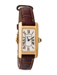 Cartier Tank Am�ricaine Watch 2482 $3,995.00