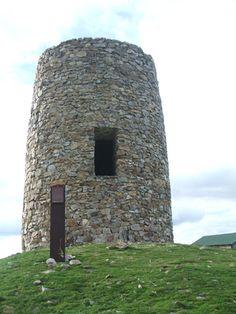 Publicamos otra atalaya del sistema defensivo cordobés,  la de Torrepedrera en El Berrueco.