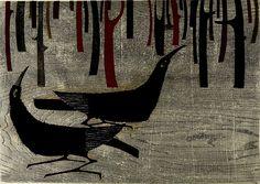 Amano Kunihiro: Winter, Shôwa period, dated 1957 - Harvard Art Museum