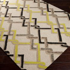 Have to have it. Surya Rain 10 Hand Hooked Polypropylene Rug $73