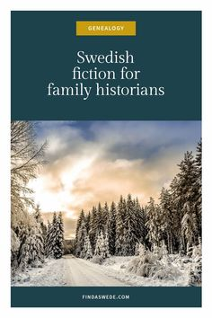 A great way to understand the context of your ancestors is fiction. This is a selection of novels that play out in Sweden between 1820 and 1910. They describe the country your migrant ancestor left so that you feel it. The hunger, the cold and the beauty.