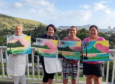 PaintFling private and public paint n sip paint nite party Oahu Hawaii Paint And Sip, Cycle 3, The Masterpiece, Drawing Skills, Oahu Hawaii, Easy Paintings, Paint Party, Public, Night