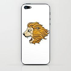 Lion iPhone & iPod Skin by Adam Doyle - $15.00