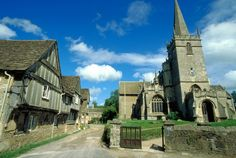 Lacock the village where Pride and Prejudice (1995) and Harry Potter  (2001)were filmed