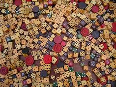 old dice.
