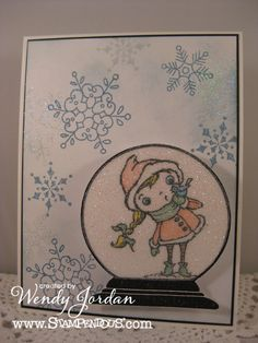 Paper Therapy: Stampendous is a WOBBLIN' and so is Wendy Jordan!!