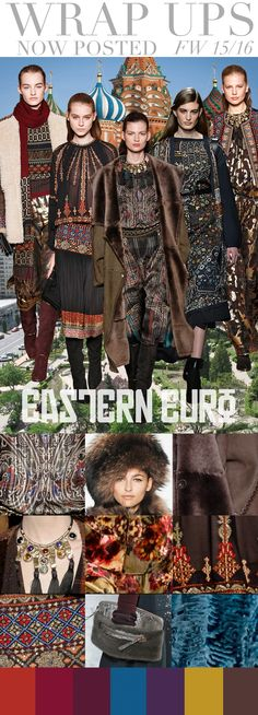 TREND COUNCIL F/W 2015- EASTERN EURO
