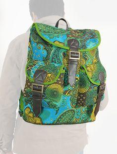 "Carry and Guard "" Mesa 'lardia "" | Buy @ inhoma.de #Inhoma #Taschen #Backpack #Rucksack #Motivtaschen #Ausgehtasche"