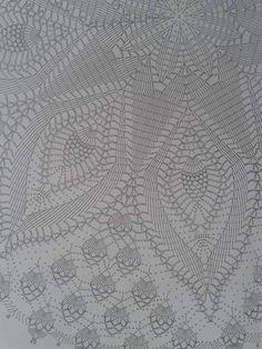 Best 12 szydełko / serweta na Stylowi. Crochet Doily Diagram, Crochet Mandala, Crochet Chart, Thread Crochet, Filet Crochet, Crochet Motif, Hand Crochet, Crochet Table Topper, Crochet Tablecloth