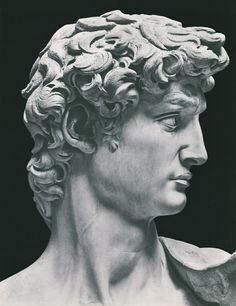'David' is a masterpiece of Renaissance sculpture created between 1501 and 1504 by Michelangelo. It depicts the Biblical story of David and Goliath. The statue was moved to the Galleria dell'Accademia, in Florence, Italy, in Michelangelo Sculpture, Roman Sculpture, Sculpture Romaine, Greek Statues, Italian Statues, Ancient Greek Sculpture, Greek Art, Classical Art, Renaissance Art
