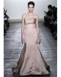 07ce37157466f Spring 2012 Pastel Pink Weddings, Pink Wedding Dresses, Designer Wedding  Dresses, Bridal Fashion