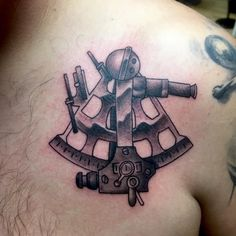 sextant tattoo body art inspirations pinterest tattoo and body art. Black Bedroom Furniture Sets. Home Design Ideas