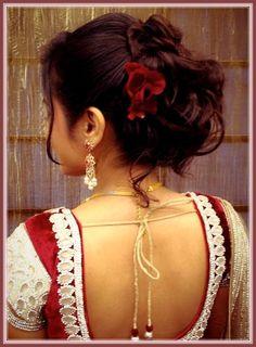 Indian Wedding Reception Hairstyles Images - Wedding Idea