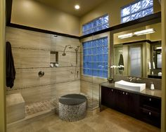 Bath Photos Walk-in Showers Design Ideas, Pictures, Remodel, and Decor - page 9