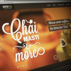 Varietea Website on Behance Behance, Neon Signs, Website