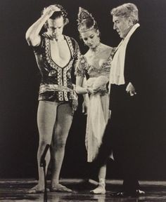 Anthony Dowell, Antoinette Sibley and sir Frederick Ashton