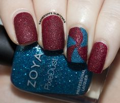 Fourth of July Nail Art (3) by Samarium's Swatches,
