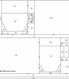 Foundation Paper Piecing, Yandex Disk, Views Album, Diy And Crafts, Floor Plans, Piercing, Scrappy Quilts, Paper Envelopes, Piercings