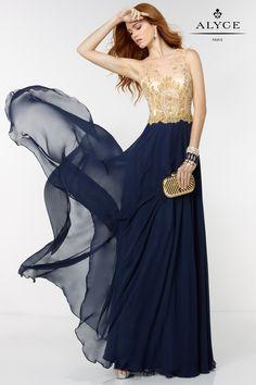 The Hottest Dress Designer hands down! Alyce Paris.  Check out their dresses at alyceparis.com Alyce | Prom Dress Style #6527 #http://pinterest.com/alyceparis