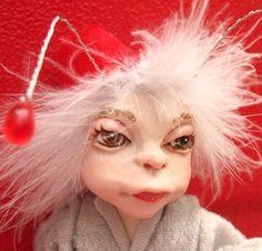 Bluff Trickster Magician Pixie OOAK Fairy Fairies Doll Artdoll soft body DMA