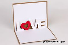 Love Pop-Up card