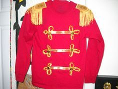 Army Wife Quilter: Christmas Holiday Toy soldier costume