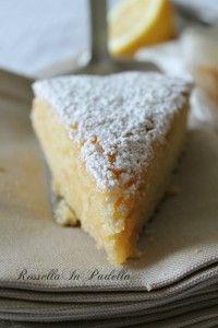 Torta al limone light senza uova e burro | RossellainPadella