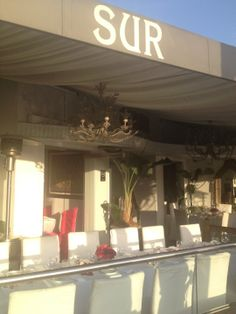 Sur Restaurant and Bar | Something to do with Real Housewives of Beverly Hills? Worth a try anyway.  May as well feel part of the vibe | It Started in LA | www.itstartedinla.com