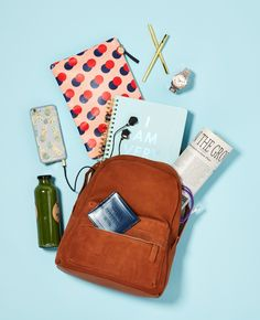 Backpacks are back! In luxe materials, this schoolyard staple is all grown up (and as practical as ever!)