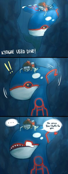 Kyogre used Dive! by Nyapapa