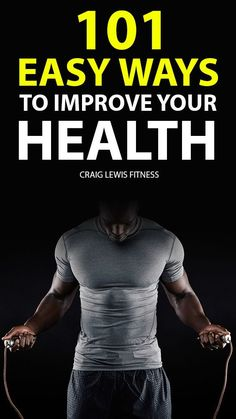 Improving your health doesn't have to be hard. Every day you can practice it. Here, we give you easy ways to improve your health that you can incorporate in your daily life. Learn one or two from this list, make it a habit, and you will see how your life will change for the better. Weight Loss For Women, Fast Weight Loss, Healthy Weight Loss, Weight Loss Tips, How To Lose Weight Fast, Fit Board Workouts, Fun Workouts, Workout Tips, Fitness Tips For Men