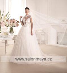 Svatební šaty - Půjčovna svatebních šatů Praha | Maya