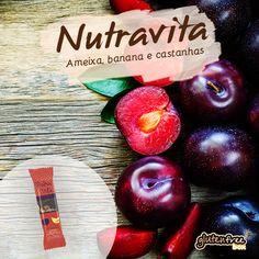 Barrinha de Ameixa, banana e castanhas  - Nutravita