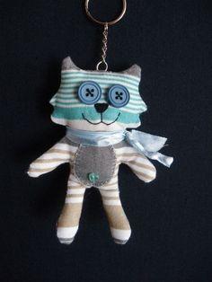 porte clef chat