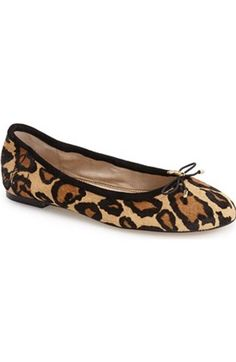 """Free shipping and returns on Cole Haan 'Tali' Bow Ballet Flat (Women) at Nordstrom.com. A sleek bow accented with logo-embossed goldtone hardware puts a modern twist on a signature leather ballet flat that features a supportive micro-wedge and a padded footbed that reflects the best of Cole Haan's new Grand.OS """"operating system"""": comfort without compromise."""