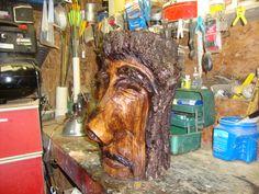 Walnut wood spirit...sold