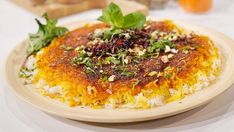 Persiskt ris tahdig | SVT recept Rice, Food, Eten, Meals, Diet