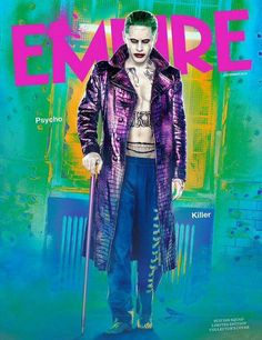 Jared Leto & Cara Delevingne: More 'Suicide Squad' Covers!: Photo Jared Leto is showing off his Joker abs once again on this alternate cover for the Suicide Squad Empire magazine spread! The actor is not the only… Harley Quinn Et Le Joker, Margot Robbie Harley Quinn, Jared Leto Joker, Gotham City, Will Smith, Marvel Dc, Dc Comics, Harey Quinn, Trailer Oficial