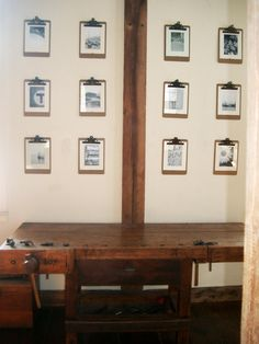 Do It Yourself - Clipboard Wall Frames