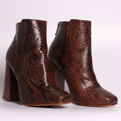 Forba snake booties  | Lintervalle