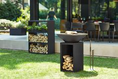 See our full range of OFYR products and its accessories to enhance your outdoor cooking experience Garden Furniture, Outdoor Furniture Sets, Outdoor Decor, Range Buche, Barrel Grill, Outdoor Kitchen Patio, Camping Bbq, Wood Rack, Corten Steel