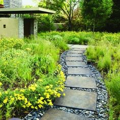 pavers with large gravel